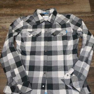 Columbia Omni-Wick Shirt Snap Down flannel shirt